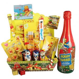 Pooh School Sweet Creative Set XL with Kids Champagne*