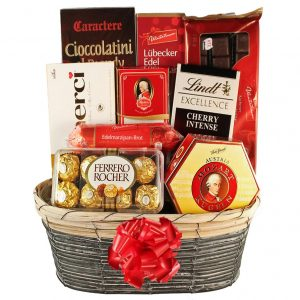 The Sweetvaganza – Chocolate Gift Basket