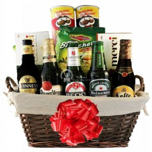 Boys Night Out Gift Basket