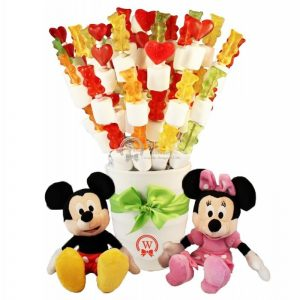 When Innocence Become Colorful – Haribo Candy Bouquet