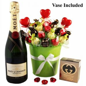 Green Melody with Moët and Gucci – Sweet Bouquet