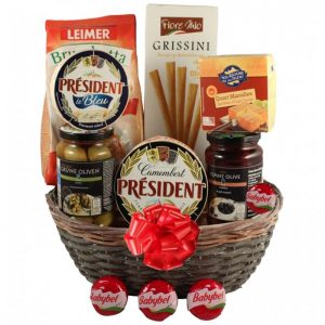 Season Greeting Gift Basket