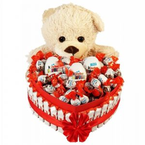 Bostjan's Teddy Bear Heart Shape Kinder