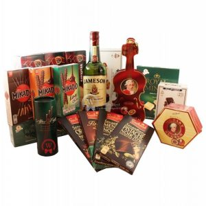 The Welcome Peak – Alcohol Gift Basket