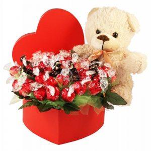 75 Love Reasons – Chocolate Bouquet