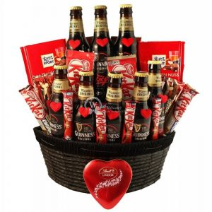 Irish Love Story – Guinness Beer Gift Basket