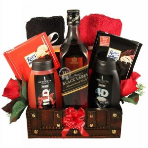 Johnnie, My Real Man – Luxury Gift Basket
