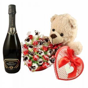 Sweet Thoughts – Chocolate Bouquet with Sparkling Wine