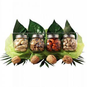 4 Nuts Jar Gift