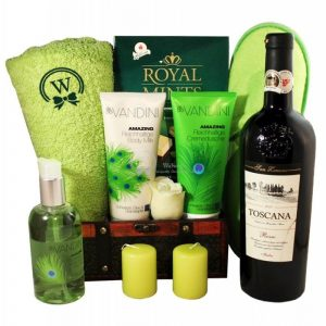 The Green Garden – Spa Gift Basket