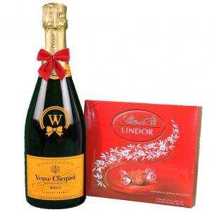 Veuve Clicquot & Lindor Bonbons Box
