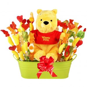 Sweet Winnie Pooh's Love – Haribo Candy Bouquet