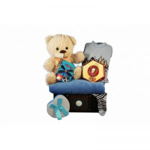 Baby Deep Blue Gift Basket