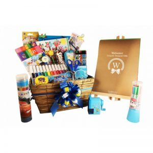 Boy Creativity – Back to school gift basket