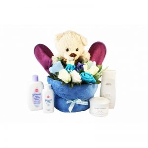 Full Baby Boy Basket – Clothing Gift Basket