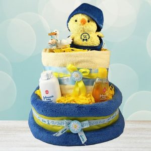 My Little Sweet Chick – Nappy Cake For Boy