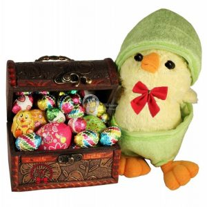 Egg-citing Treasure Chick