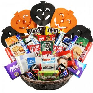 Attack The Snacks – Halloween Gift Basket