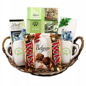 The Relaxing Tea Basket – Rosh Hashanah Gift Basket