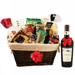 Perfecto Italia with Red Wine – Rosh Hashanah Gift Basket