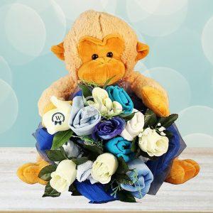 Soft & Cozy Boy Clothes Bouquet