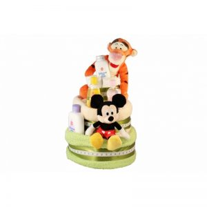 Tiger and Mickey – Diaper Cake