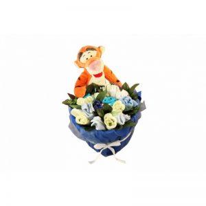 Tigger in a Basket Boy Clothing Bouquet